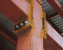 BoxBolts to secure tubular frame on Hospital Building