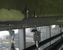 BK used with Strut Products for Sprinkler Supports