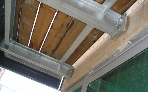 Boxbolt For Cantilevered Balcony Support Beamclamp