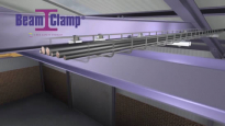 BeamClamp heavy duty cable tray support