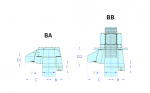 Diagram - BA/BB Clamps