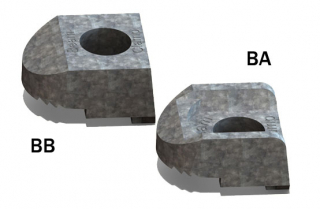 BeamClamp Components Type BA and BB