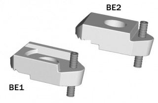 BeamClamp Components Type BE1 and BE2