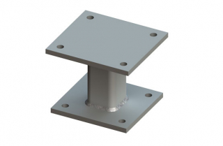 BeamClamp Location Plate and Spacers